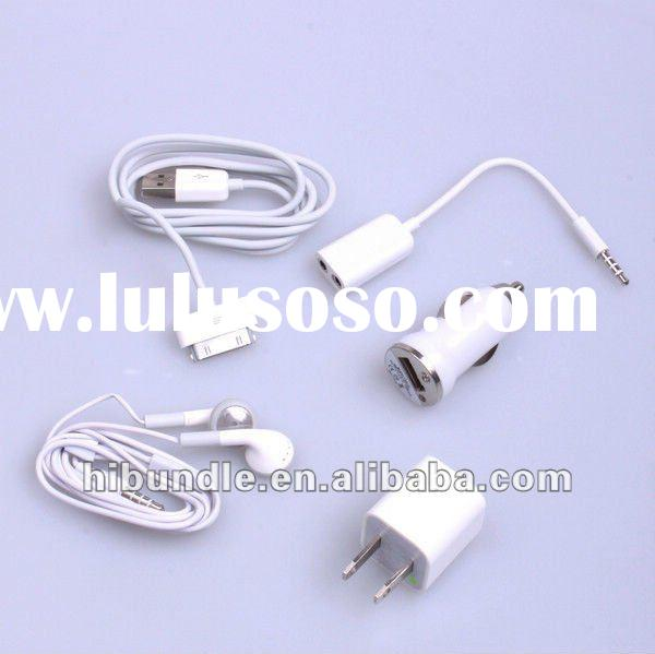 5 in 1 Travel Kit Charger for Apple iPod iPhone 4G 4S