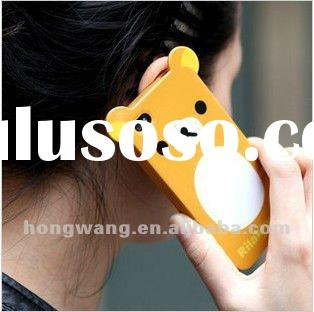 2012 Attractive silicone mobile phone case