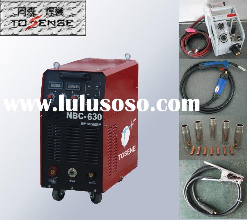 IGBT inverter Co2 gas shielded mig mag welding machine mig welder NBC630