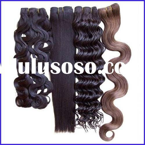 100% Human hair Weave Hair Weft Extension