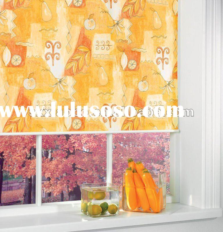 Blackout Fruit printed fabric roller blind