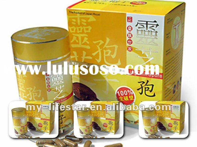 wholesale hot 2012 new product Lingzhi spore anti aging capsule