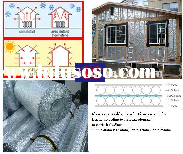 Super bubble aluminum foil thermal insulation material