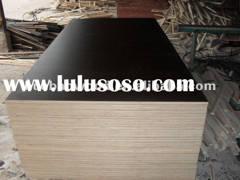 birch core,brown film faced plywood