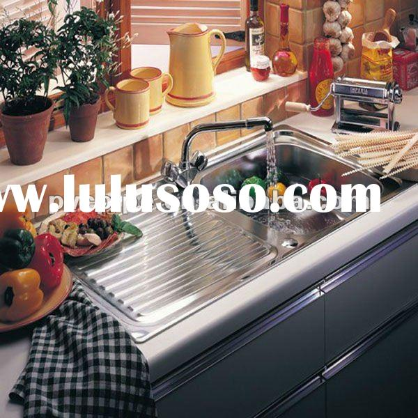 2.0 Bowl Stainless Steel Undermount Kitchen Sink.