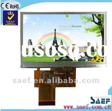 "4.30"" 480*(RGB)*272 WQVGA Landscape Color display TFT LCD display with Touch Panel"