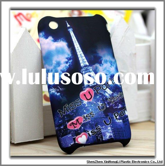 Cell phone cases for iPhone 3G/3GS with Thermal transfer technics