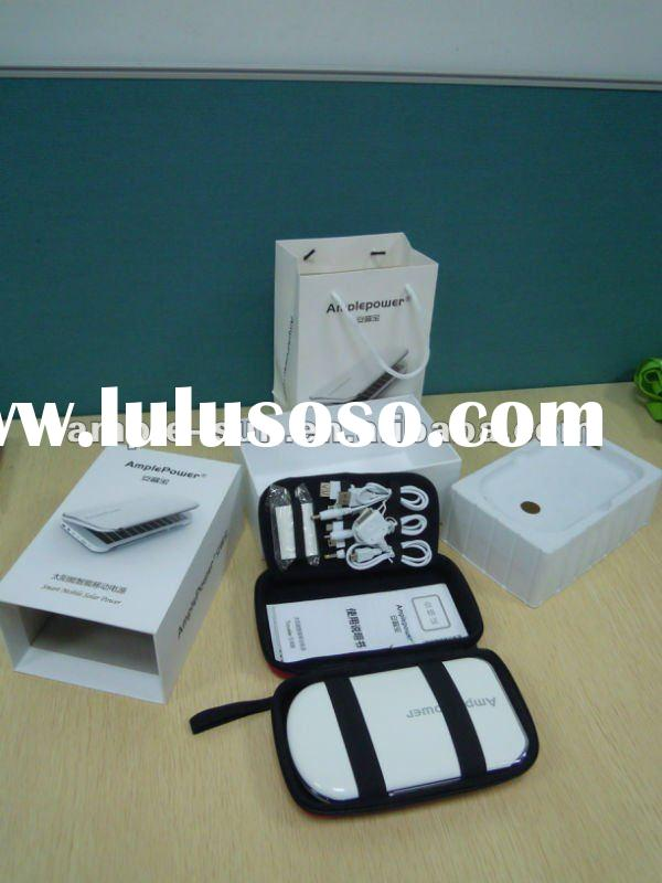 Hot selling gift mobile solar power supply for mobile phone,MP3/MP4, PDA & digital