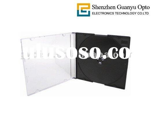 Slim Jewel 5.2mm CD case with Black Tray