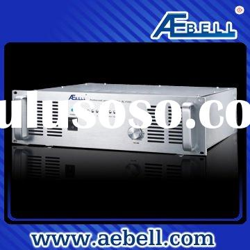 PA system power amplifier with high rated power output