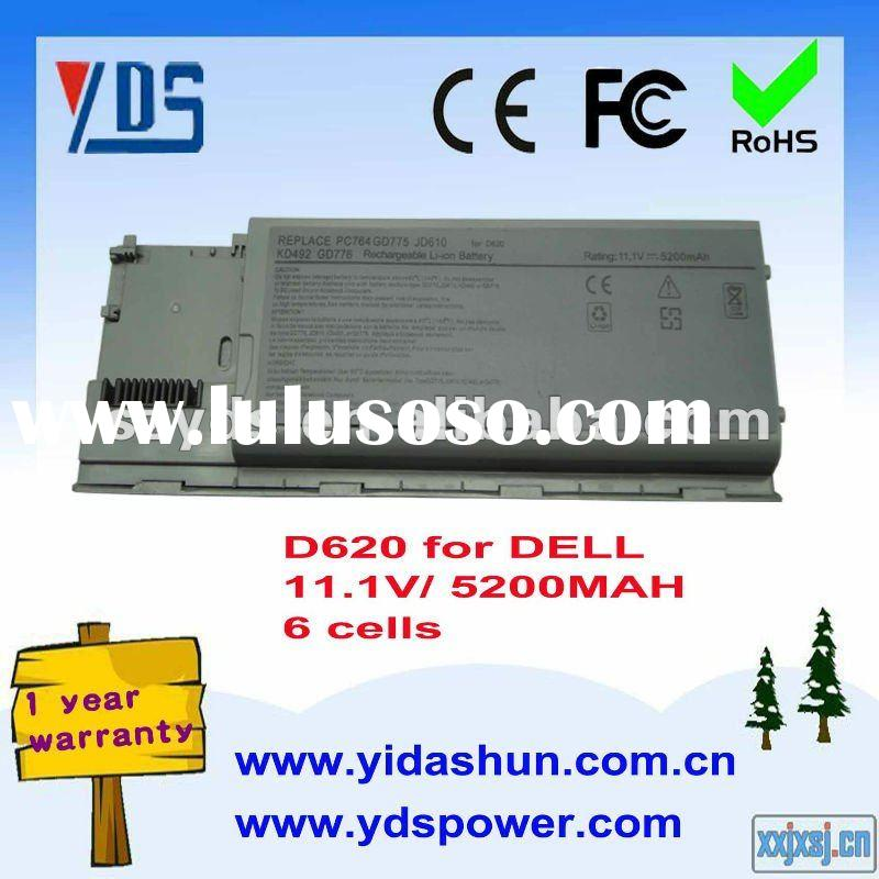 11.1V 5200MAH laptop battery for DELL Latitude 620 series