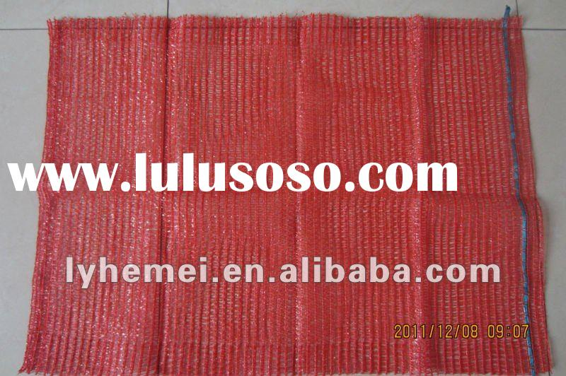 hdpe vegetable mesh bag for packing potato/onion/eggplant/carrot/tomato