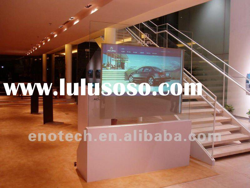 Adhesive Rear projection film/foil for hologram 3D display/ shop window display