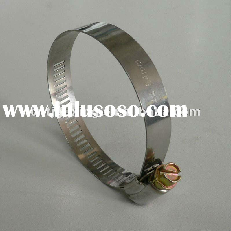 American Type Hose Clamp in stainless steel