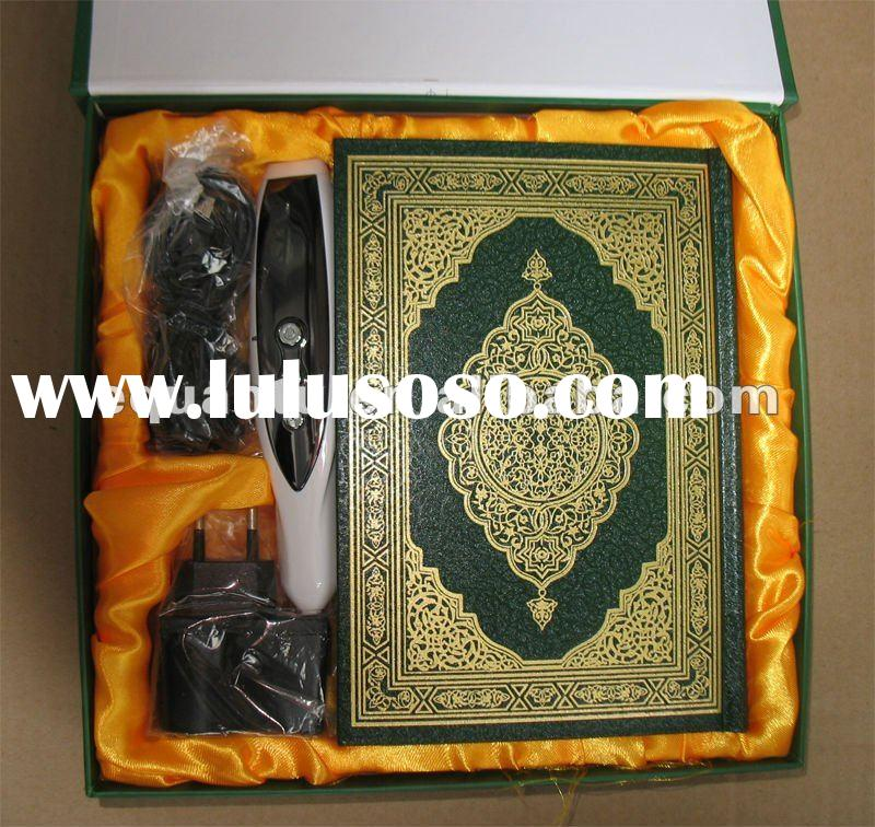 digital pen al quran with 7 reciter,18 languages