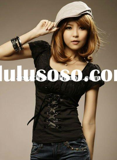 2012 Fashion ladies blouse lace good fitting