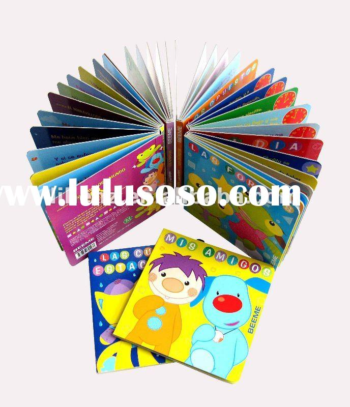 Baby board book printing service
