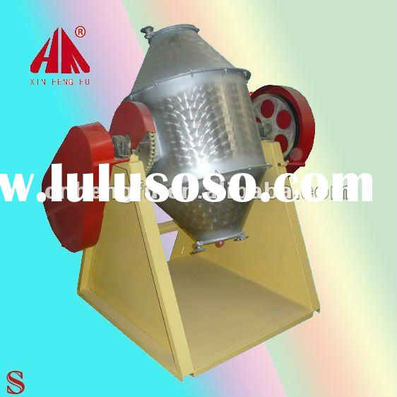 Drum-shaped additive animal and chemical powder mixer