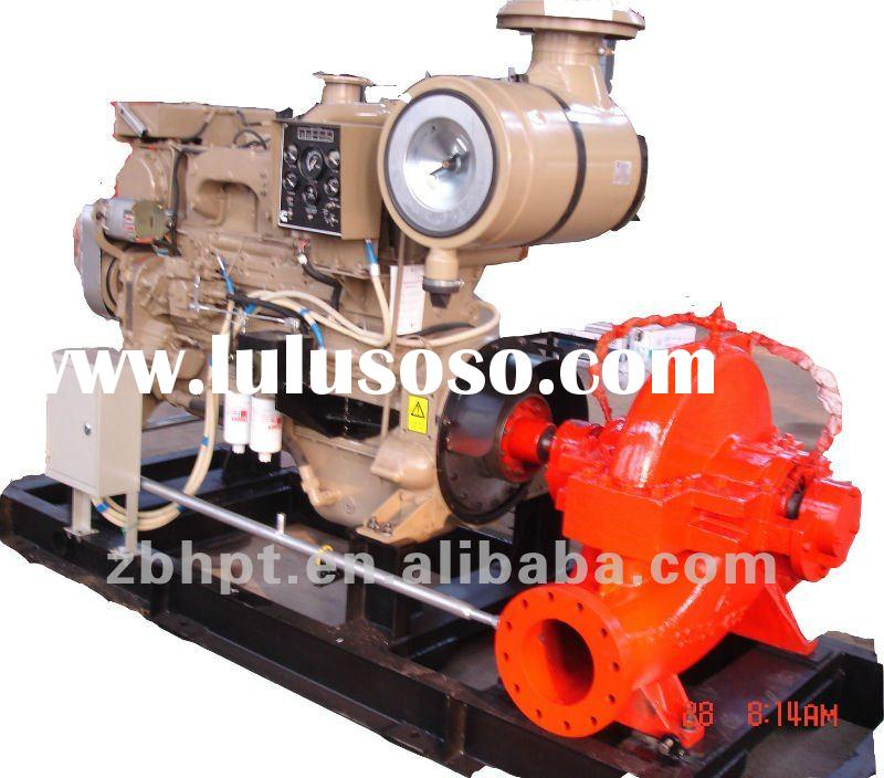OS Series Pump, Driven by Diesel Engine and Electric Motor,