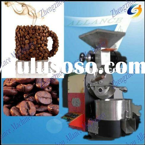 Gas heated espresso coffee machine
