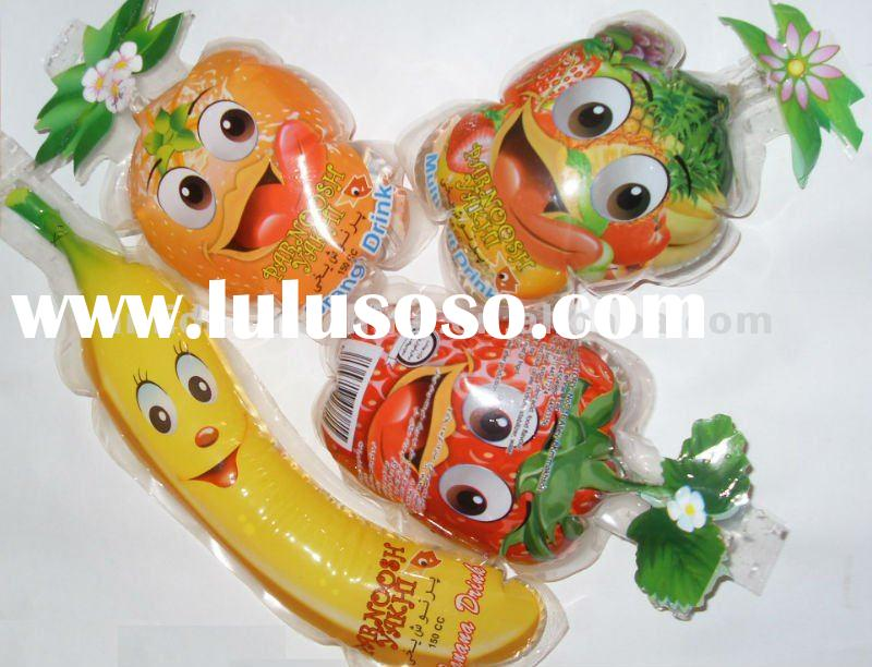 High speed fruit shape jelly package filling sealing packing machine