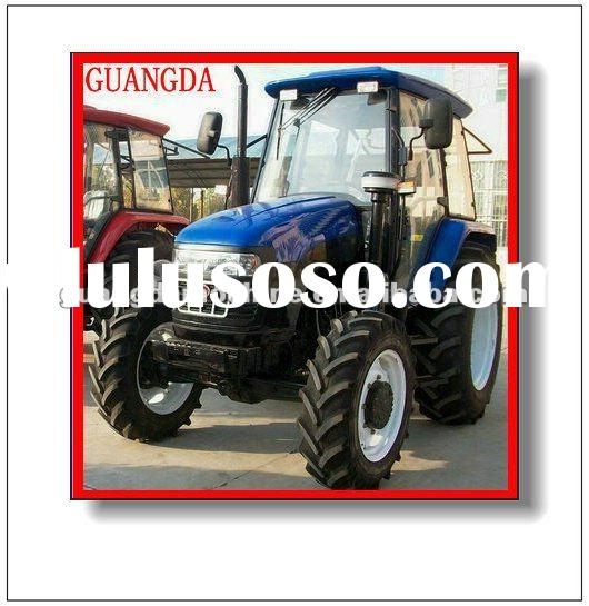 low price pictures of tractors 90hp 4wd with beautiful cab