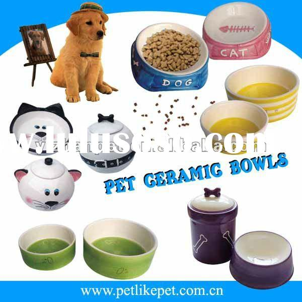 popularity pet ceramic bowls
