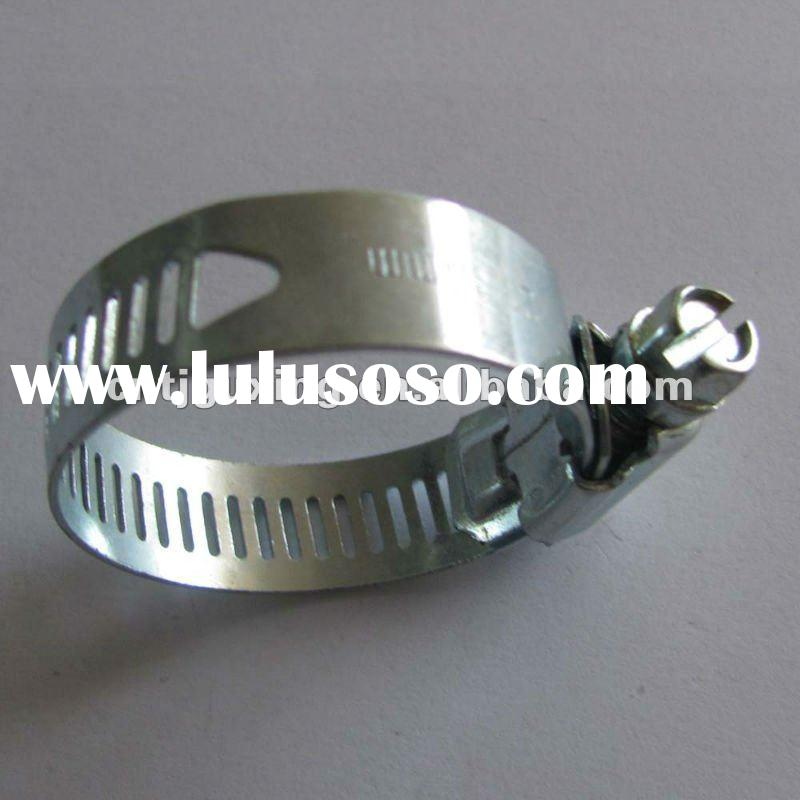 zinc-plated steel American Type Hose Clamp
