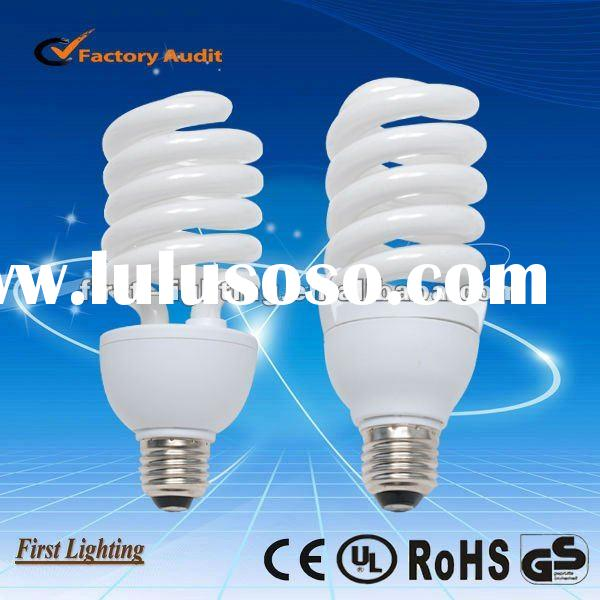 50/70/90w high power half spiral Energy saving lamp