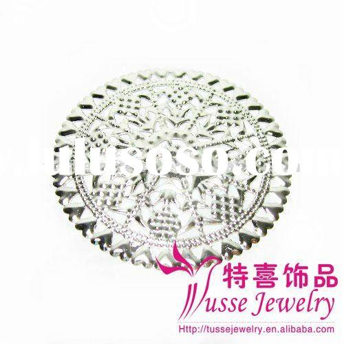 Metal Filigree Round Shape