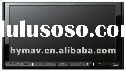 "7"" UNIVERSAL DOUBLE DIN DVD PLAYER WITH GPS SYSTEM,/10VITUAL DISC MEMORY/2ZONE/PHONEBOOK/RADIO("