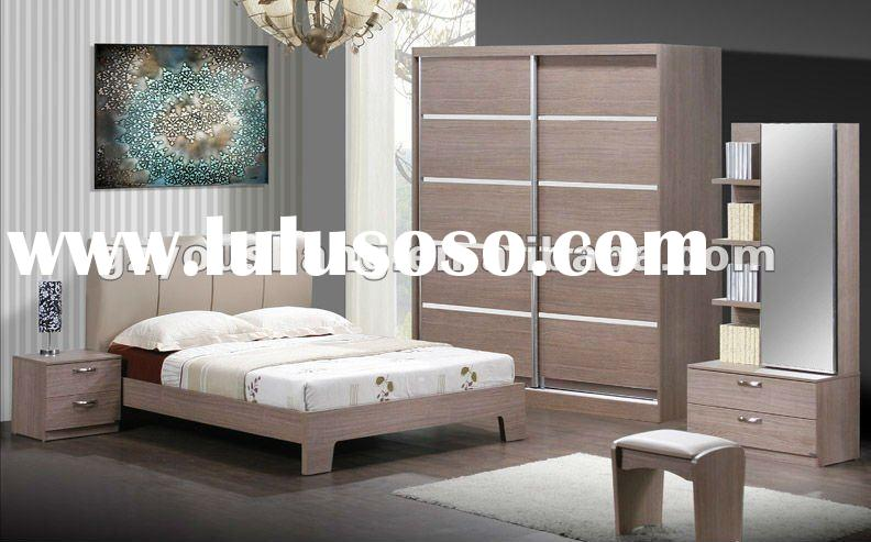 Modern Wooden Bedroom Furniture Set