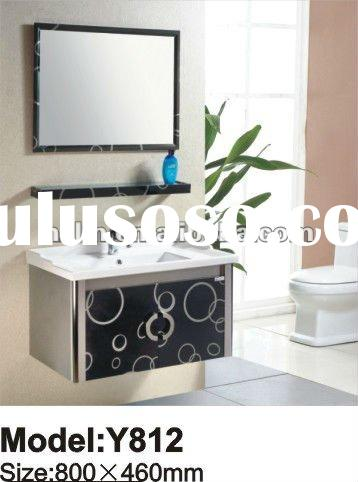 classic stainless steel toilet bathroom cabinet