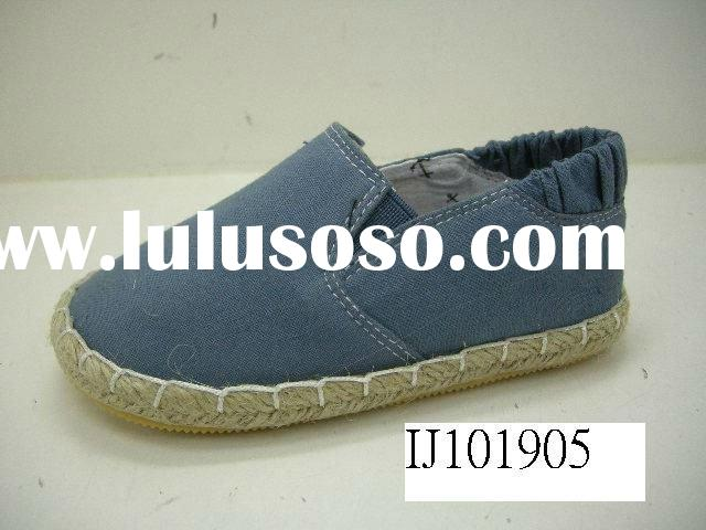 2012 new style Children jute shoes with cheap price