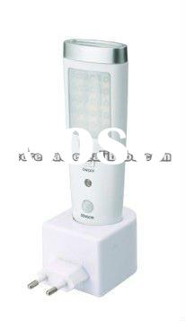 NEW design with PIR sensor and Night sensor led emergency light / sensor led torch / sensor night li