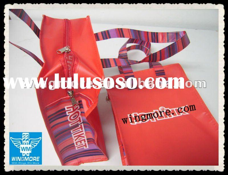 Nonwoven Waterproof Promotional Bag with zipper