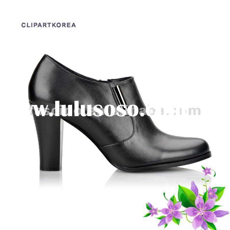 Designer footwear Woman fashion leather shoes genuine leather 2012