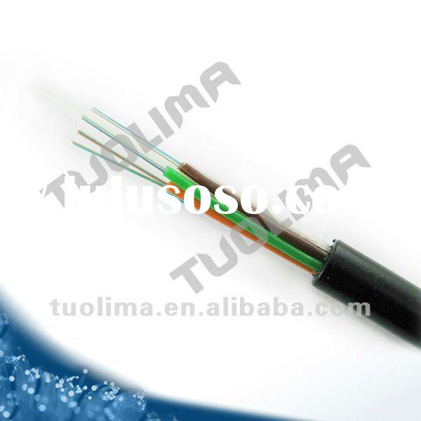 GYFTY (G652D) Max 144core Fiber Optic Cable / Outdoor Optical Fiber Cable