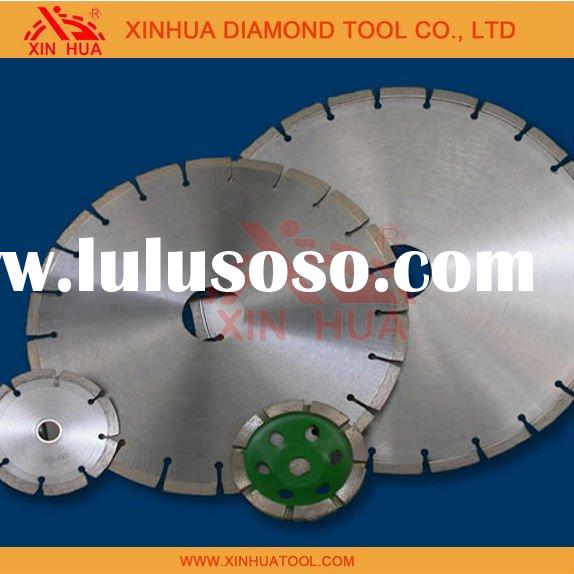 diamond saw blade with fast straight cutting,no chipping, no segment burn or breakage