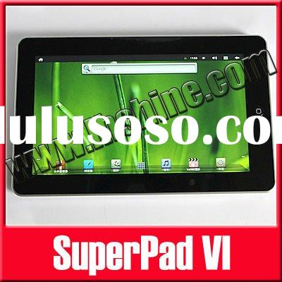 "New 10.2"" Superpad VI Android 2.3 Cortex A8 Flytouch 6 Tablet PC Free Shipping"