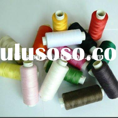 100% polyester sewing thread in spool
