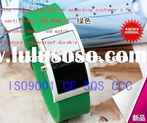 808 silicone jelly watch