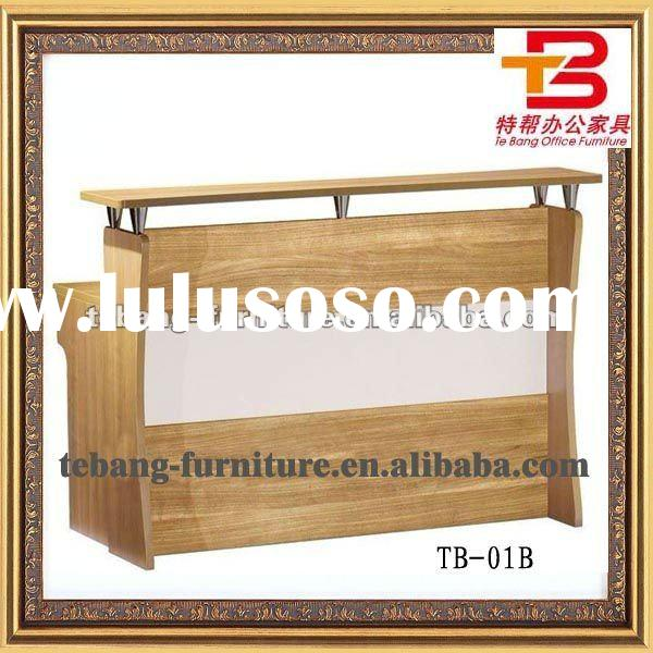 Oak Office Reception Counter TB-01B