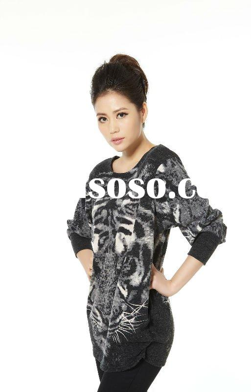 High quality lady casual sweater