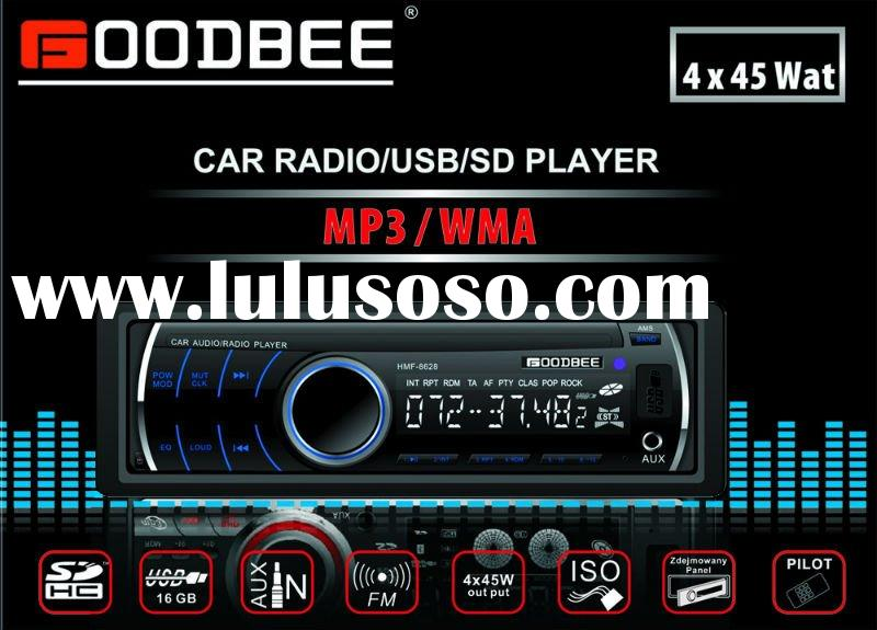 Deckless Car Radio / MP3 player with USB/SD slot
