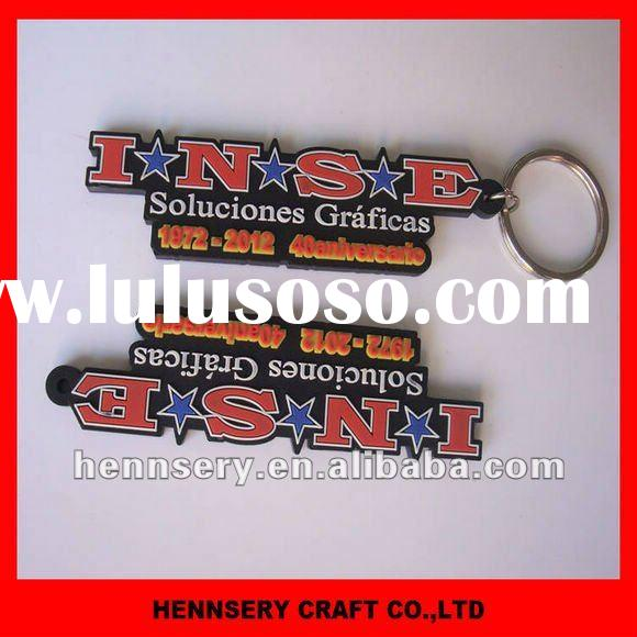 3D promiton soft pvc key chain