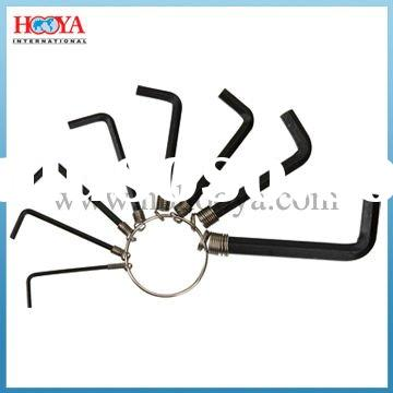 8pcs Hex Key Wrench Set 1.5-6MM