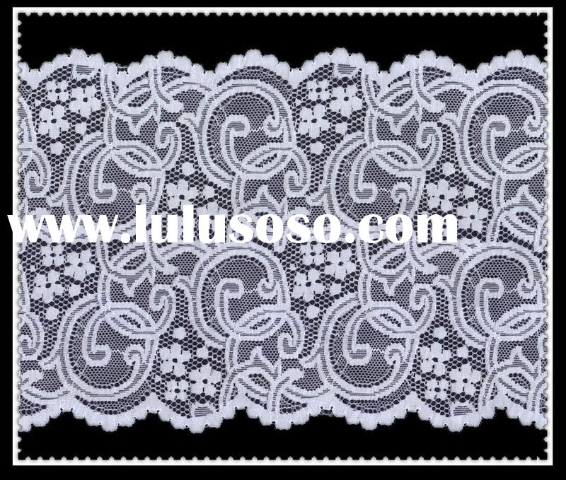 Embroidered Trim Cheap lace trim 6CM 50 Yards Embroidered Fabric Trimming Lace Accessories net lace fabric