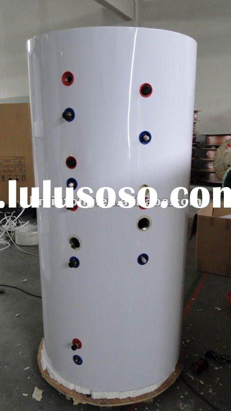 Split pressurized solar water heater tank