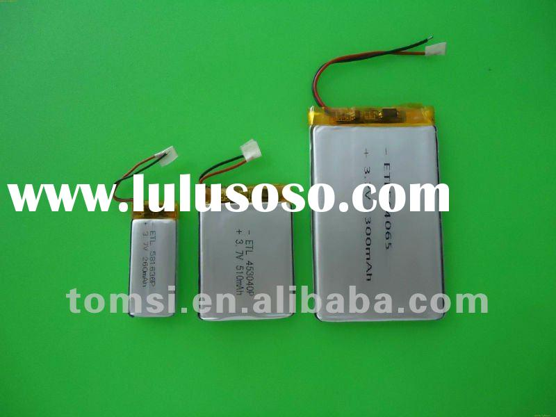 3.7v Li-polymer rechargeable battery